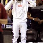 Odell Beckham Jr  In  Vetements x Champion – NBA Finals Game 4
