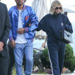 Scott Disick  In  Tommy Hilfiger x The Rolling Stones Jacket – Nobu Malibu