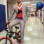 Stephen Curry Wears a Dsquared2  &  Gucci for GQ