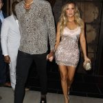 Tristan Thompson In Saint Laurent – Khloe Kardashian 33rd Birthday Party