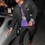Asap Rocky  In  Midnight Studios  Jacket Out In Hollywood
