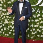 Kevin Spacey In Isaia Suit  At 2017 Tony Awards