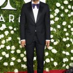 John Legend  in  Gucci suit –  2017 Tony Awards