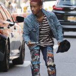 Jaden Smith   In Louis Vuitton x Supreme Jacket – Out In New York