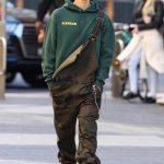 Justin  Bieber In  Louis Vuitton   X Supreme  Overalls IN Australia
