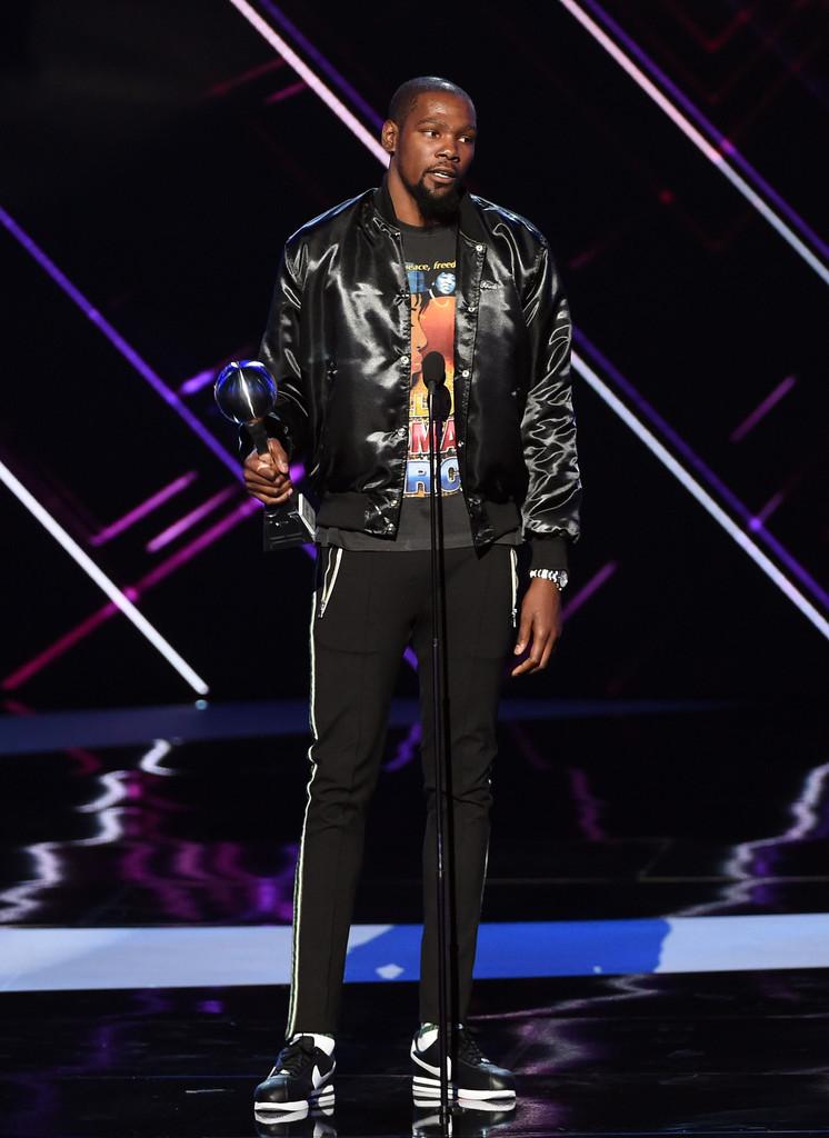 Kevin-Durant-Rhude-jacket-Nike-sneakers
