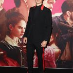 Ansel Elgort In Givenchy by Riccardo Tisci  At 'Baby Driver' Sydney Premiere
