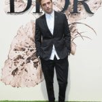 Robert Pattison  In Dior Homme – Christian Dior Fall/Winter 2017 Couture show in Paris