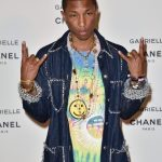 Pharrell Williams In Chanel –  Chanel Gabrielle Perfume Launch