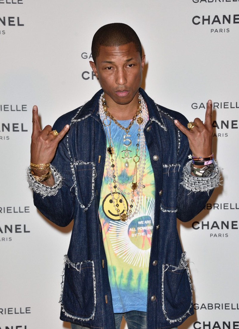 440e5f1528267 Pharrell Williams In Chanel – Chanel Gabrielle Perfume Launch ...