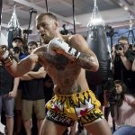 Conor McGregor wore Dolce & Gabbana –  UFC Performance Institute in Las Vegas