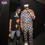2 Chainz Hangs With Travis Scott  In  Gucci – Kendrick Lamar's Damn Tour