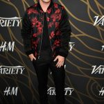 Colton Haynes In  Dries Van Noten   – Variety Power of Young Hollywood party
