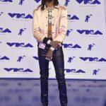 Quavo of Migos  In Saint Laurent- 2017 MTV Video Music Awards