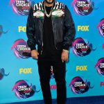 French Montana  In Champagne Championz & Gucci -2017 Teen Choice Awards