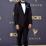 Riz Ahmed  In Prada – 2017 Emmy Awards