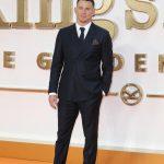 Channing Tatum  In  Salvatore Ferragamo  – Kingsman The Golden Circle  London Premiere