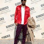 ASAP Rocky  In Gucci   – Gucci Spring/Summer 2018 Milan Fashion Week