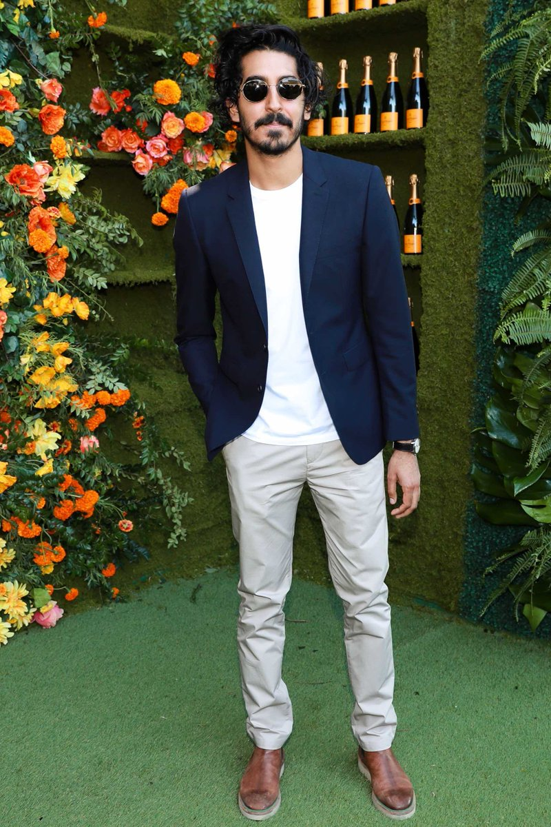 dev-patel-in-burberry-8th-annual-veuve-clicquot-polo-classic