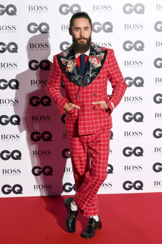 a6575b3c276 Jared Leto in Gucci – 2017 GQ Awards – SIZZLE MAN