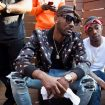 John-Wall-Louis-Vuitton-scarf-Amiri-jeans-Saint-Laurent-jacket-Dita-shades