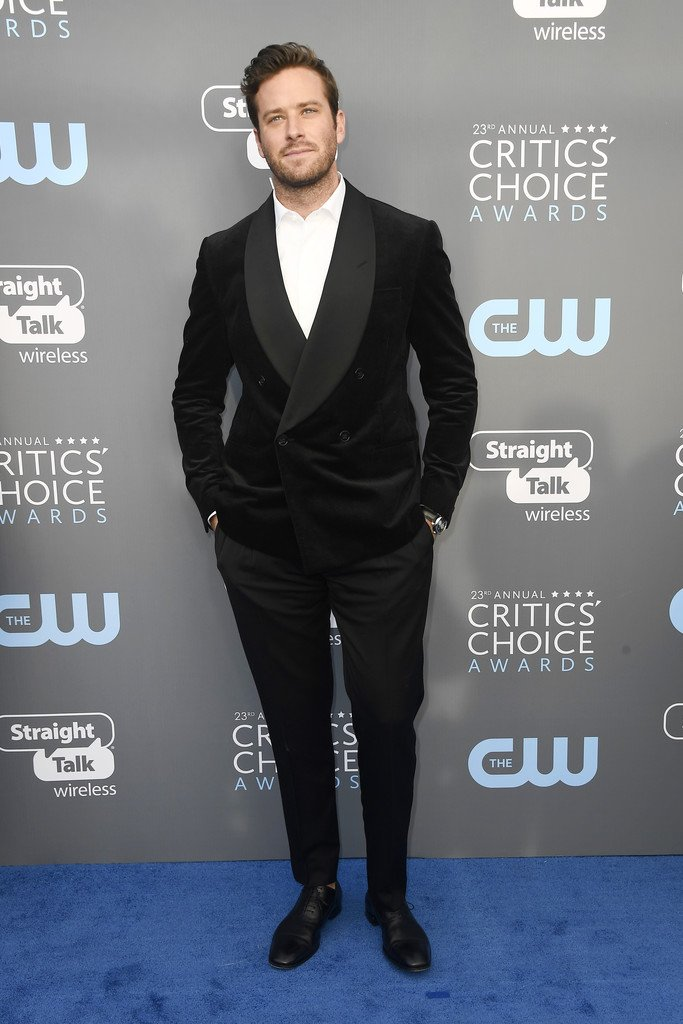 armie-hamme-in-ralph-lauren-purple-label-2018-critics-choice-awards
