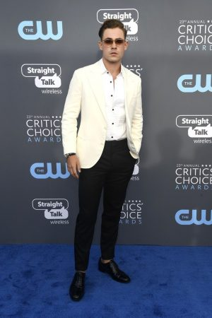 dacre-montgomery-in-brunello-cucinelli-2018-critics-choice-awards