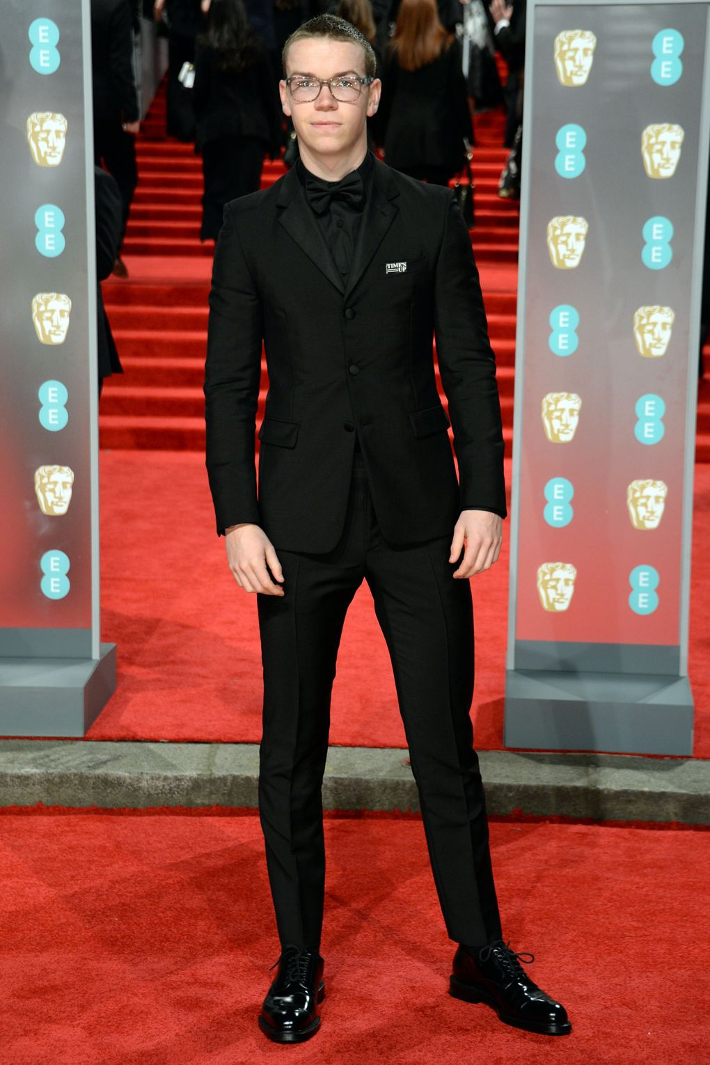 will-poulter-in-prada-baftas-2018