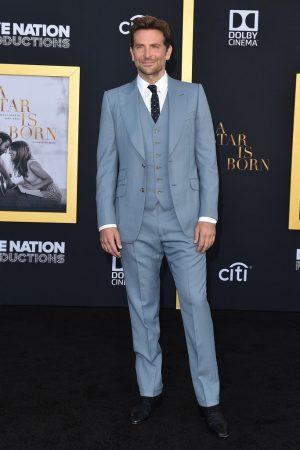 fb9b63941604 Bradley Cooper In Gucci     A Star Is Born  LA Premiere