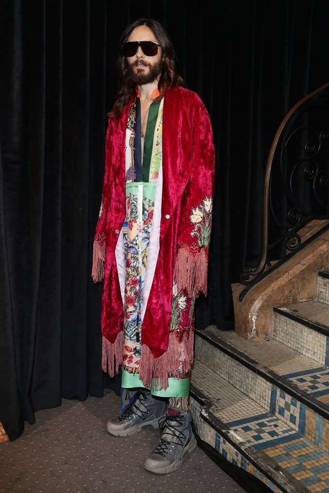 jared-leto-in-gucci-spring-summer-2019-womenswear-in-paris